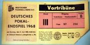 1968 Ticket Pokalendspiel