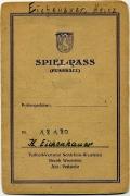 1947 Ältester Spielerpass VfL Bochum 1
