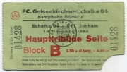 1954/55 Schalke 04 - VfL Bochum