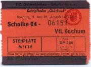 1958/59 Schalke 04 - VfL Bochum