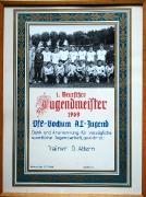 1969 A-Jugend Mannschafts-Dank