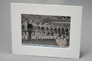 1971 VfL Bochum Foto mit Münze Westdeutscher Meister