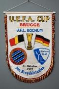 Wimpel Uefa-Cup Brügge