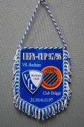 Wimpel 1997 Uefa-Cup Brügge